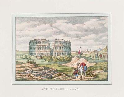 Unknown, 'Amphitheater in Jemm', 1846