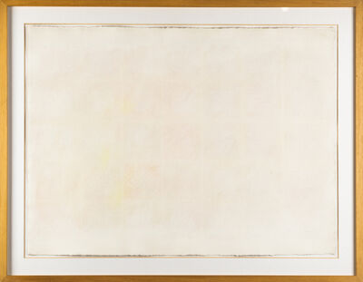 Riccardo Guarneri, 'Riquadri - Carta n.21', 1977