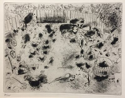Marc Chagall, 'La Basse Court', 1923-1927