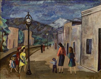 B. J. O. Nordfeldt, 'Street Scene, Santa Fe', ca. 1931