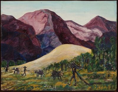 Jon Serl, 'Untitled (Hills, Gathering Wood)', dated 11, 10, 72