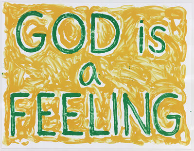 Jonathan Borofsky, 'God is a Feeling', 2010
