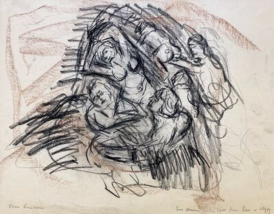 Leon Kossoff, 'From Rubens', ca. 1985