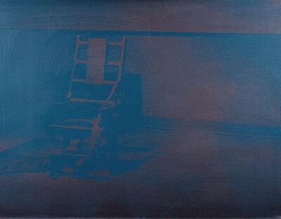 Andy Warhol, 'Electric Chair #79', 1971