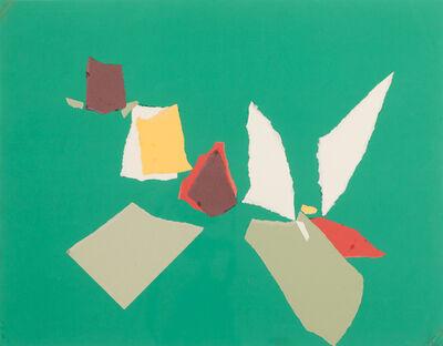 Nicolas de Staël, 'Composition Fond Vert', 1953