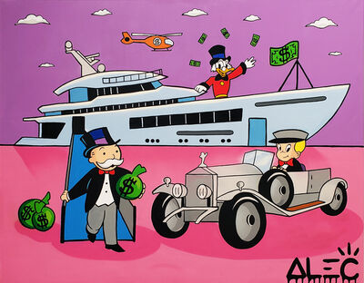 Alec Monopoly, 'Monopoly Gang with Yatch and Car ', 2019