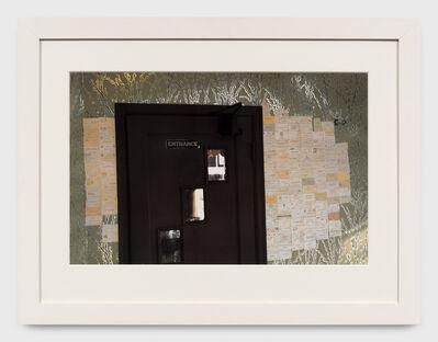 William Eggleston, 'Tenessee (brown door)', 1985