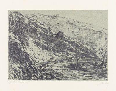 Claude Monet, 'Ravin de la Petite Creuse', 1892