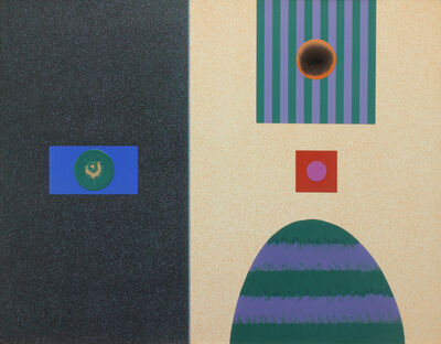 Raymond Jonson, 'Chromatic Contrasts No. 34', 1965
