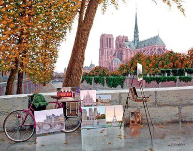 Liudmila Kondakova, 'Autumn on the Seine', 2004