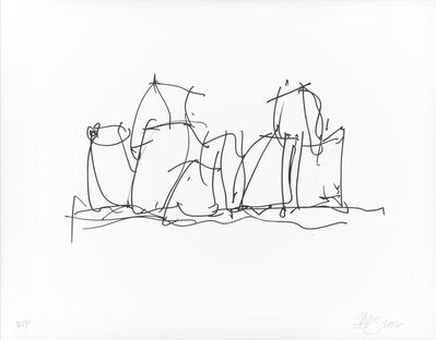 Frank Gehry, 'In Town', 2012