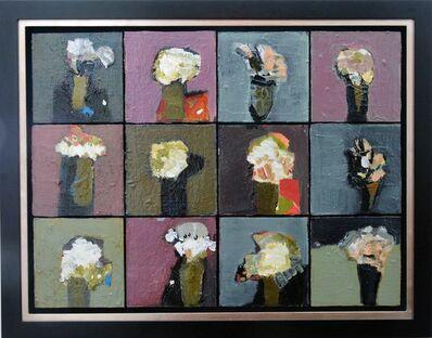 Jennifer Hornyak, 'Mosaic In Green and White', 2014