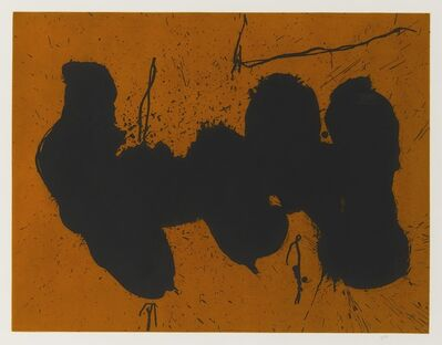 Robert Motherwell, 'Barcelona Elegy to the Spanish Republic (W.A.C. 533)', 1991