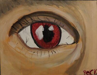 Beck Seitsinger, 'Eye of the Vampire', ca. 2000