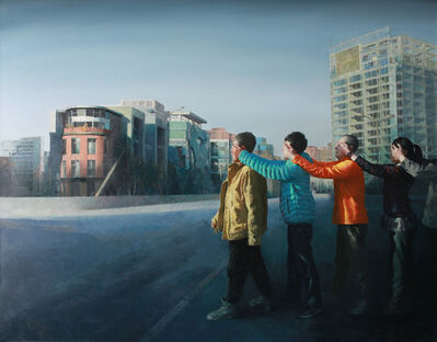 Deng Chengwen, 'Blind Walk no.1', 2014