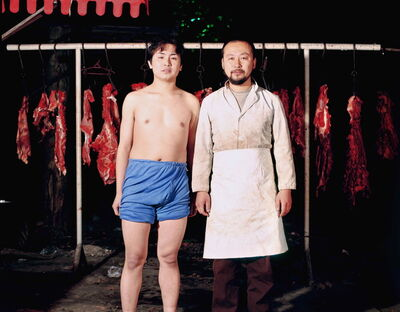 Cang Xin, 'Identity Exchange Series, Butcher', 2004