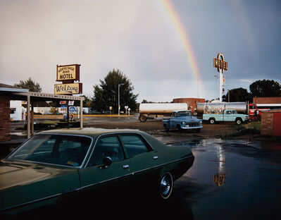 Stephen Shore, 'Horseshoe Bend Motel, Lovell, Wyoming, 1973'