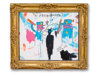 Jean-Michel Basquiat, 'Defacement (The Death of Michael Stewart)', 1983