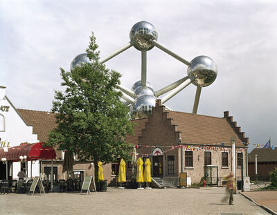 """Jade Doskow, 'Brussels 1958 World's Fair, """"A World View: A New Humanism,"""" Atomium '"""