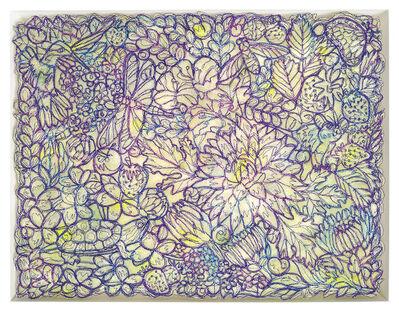 Rachelle Gardner-Roe, 'Minds Window Pane (Jewel Canopy)', 2018