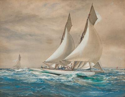 Montague Dawson, 'Racing Yachts'