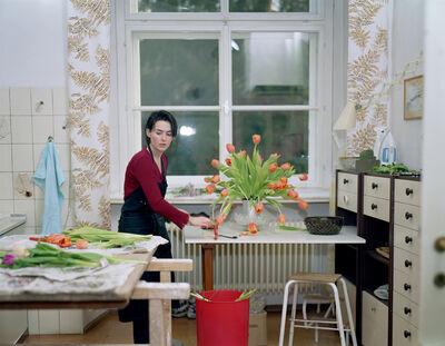 Tina Barney, 'The Tulips', 2001