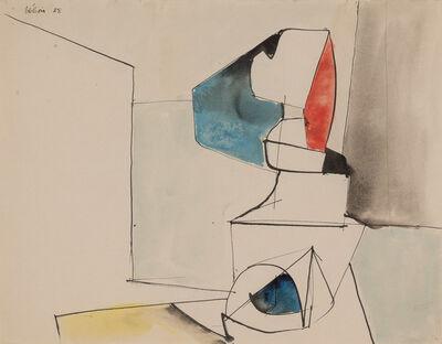 Jean Hélion, 'Figure Dressee', 1938