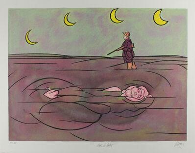Valerio Adami, 'Clair de lune', 1981