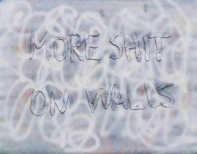 Mathieu Lefèvre, 'More Shit on Walls', 2010
