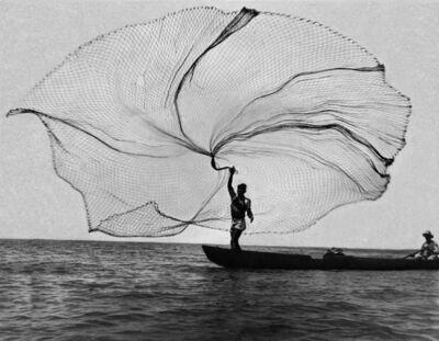 Leo Matiz, 'The net, peacock of the sea (Ciénaga Grande, Colombia)', 1939