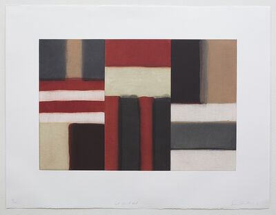Sean Scully, 'Cut Ground Red', 2011