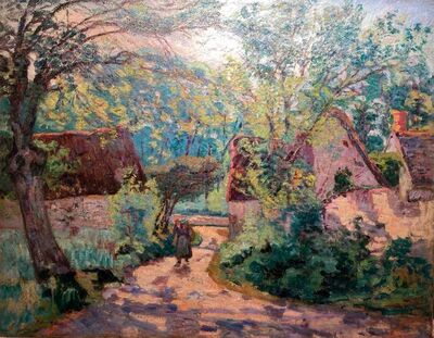 Jean Baptiste Armand Guillaumin, 'Pontcharra, Isére Valley', 1901