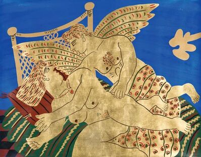 Alekos Fassianos, 'Gold Love'