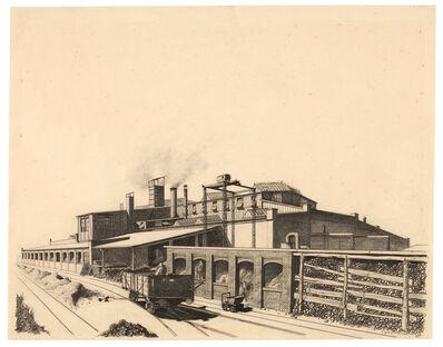 Carl Grossberg, 'Gießerei (König & Bauer, Würzburg)', 1924