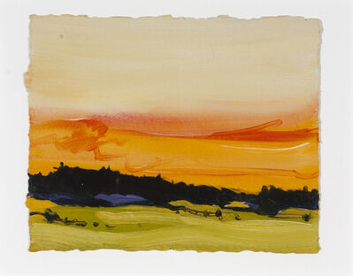 Susan Headley Van Campen, 'Sunset, Oyster River Farm '