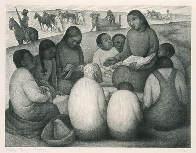 Diego Rivera, 'La maestra rural [The Rural Teacher]', 1932