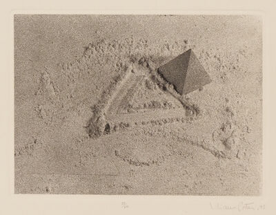 Liliana Porter, 'Untitled (with triangle)', 1975