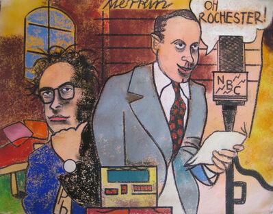 Richard Merkin, 'Peter Bart and Jack Benny', 1990-2000