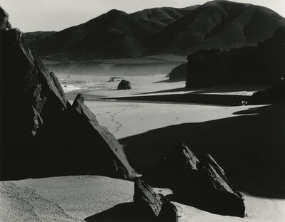 Brett Weston, 'Garrapata Beach', ca. 1954