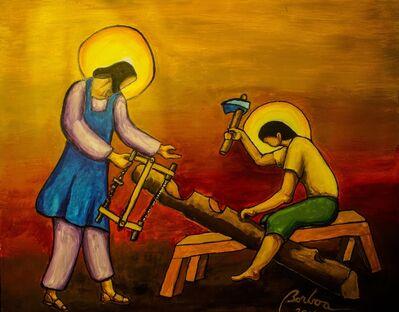 Francisco Borboa, 'Jesus the Carpenter 耶穌木匠', 2016