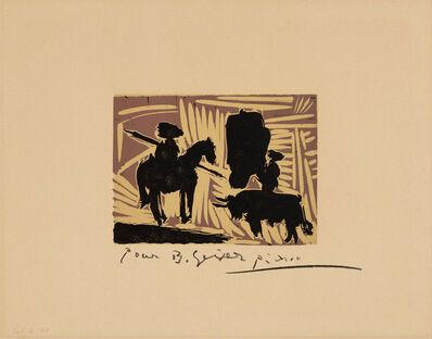 Pablo Picasso, 'Avant la pique I', 1959