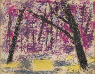 Milton Avery, 'Evening Forest', 1956