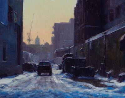 Carl Bretzke, 'Winter Alley North Loop', 2017