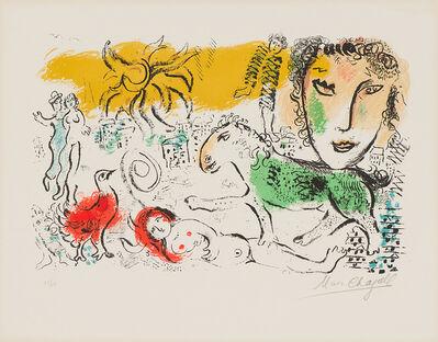 Marc Chagall, 'Untitled (M. 699, C. 93)', 1973