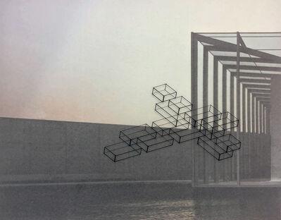 Ronald Moran, 'Diálogo inmaterial en un espacio de Tadao Ando XXII', 2016