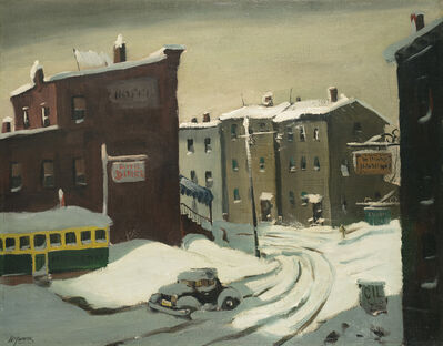 Henry Gasser, 'City in Snow', Date Unknown