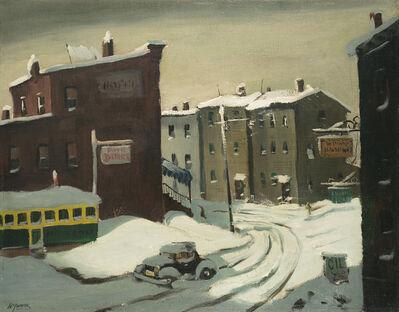 Henry Gasser, 'City in Snow', ca. 1950s-1960s