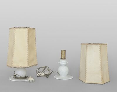Venini (Editor), 'A pair of table lamps', late 1940's