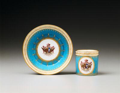 Sèvres Porcelain Manufactory, 'Saucer and Cup', 1793-1794