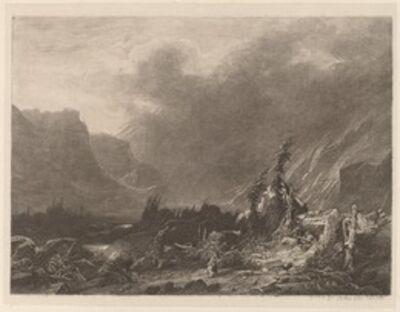 Alexandre Calame, 'Mountain Storm', 1840